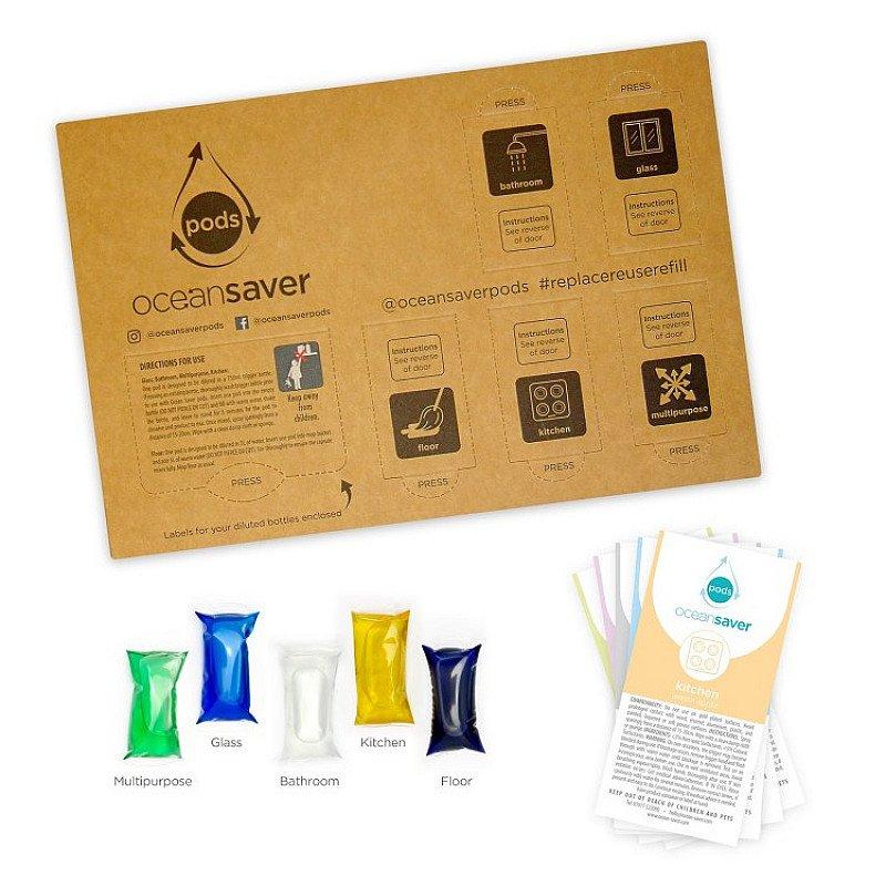OceanSaver® Cleaning Pods 5 Pack - £6.99!