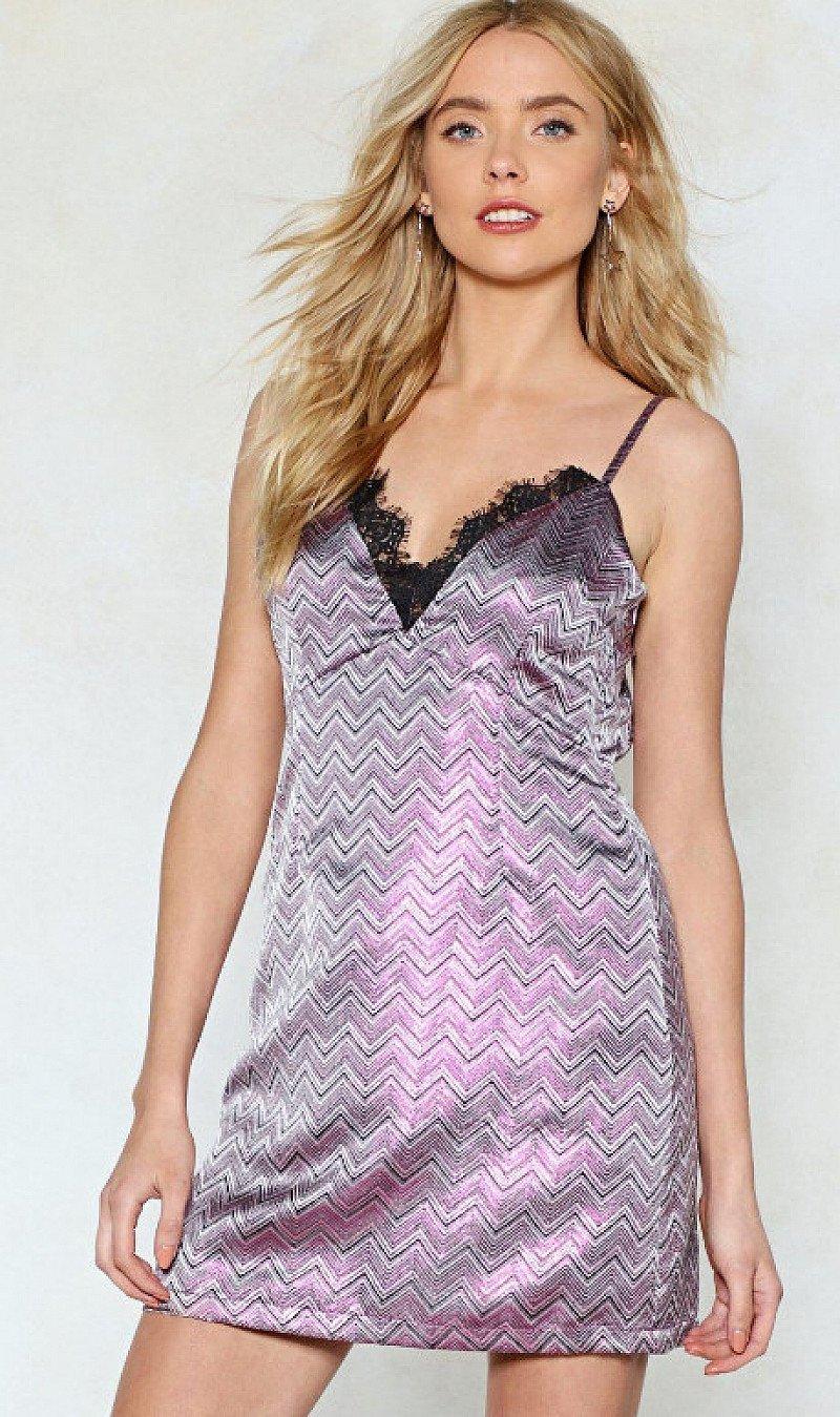 Save- Party Metallic Dress
