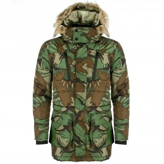HALF PRICE- SUPERDRY Expedition Parka