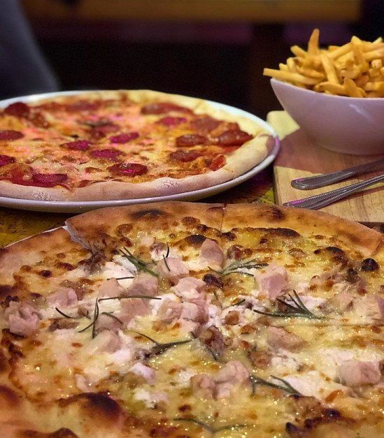 Join us at suede for Cocktails and Pizza this Saturday - #NationalPizzaday