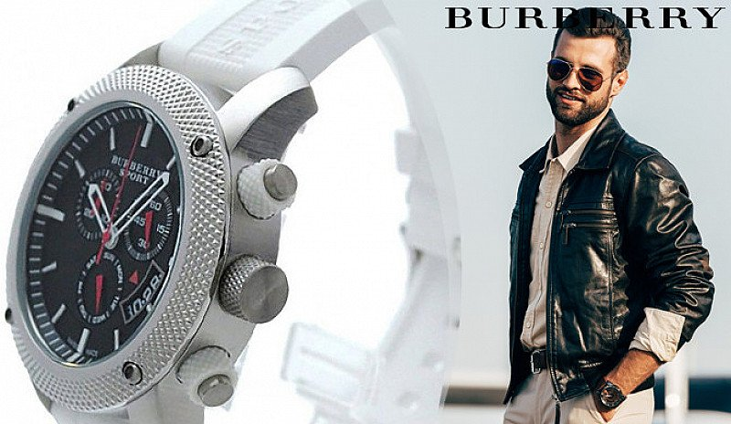 SALE - Burberry Swiss-Made Watches - 3 Designs!