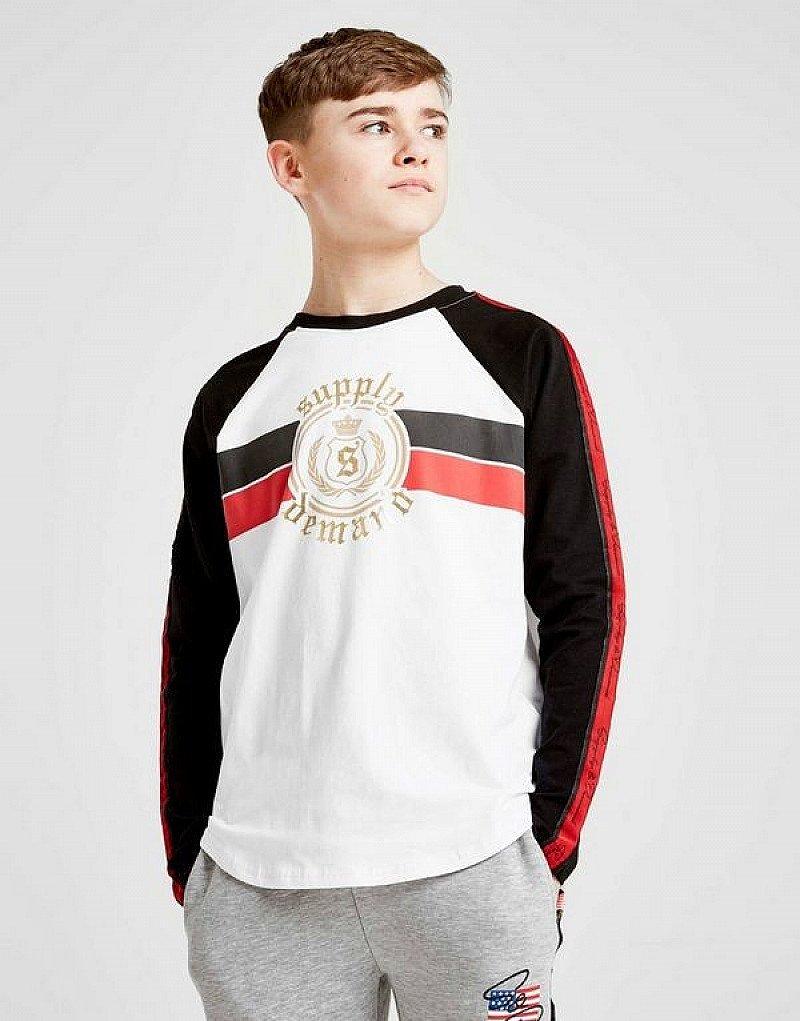 SALE - Supply & Demand Goth Long Sleeve T-Shirt Junior!