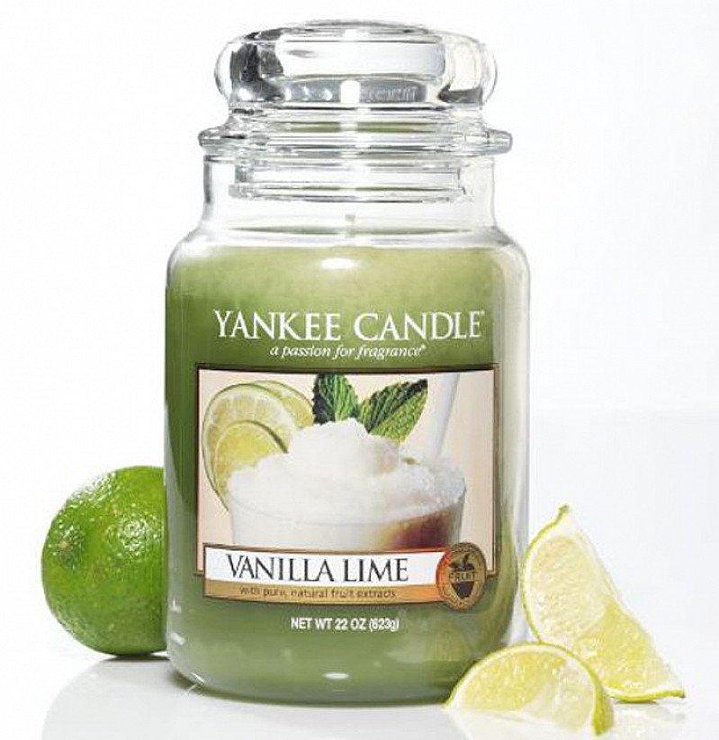 SALE - Yankee Candle Vanilla Lime Large Jar!