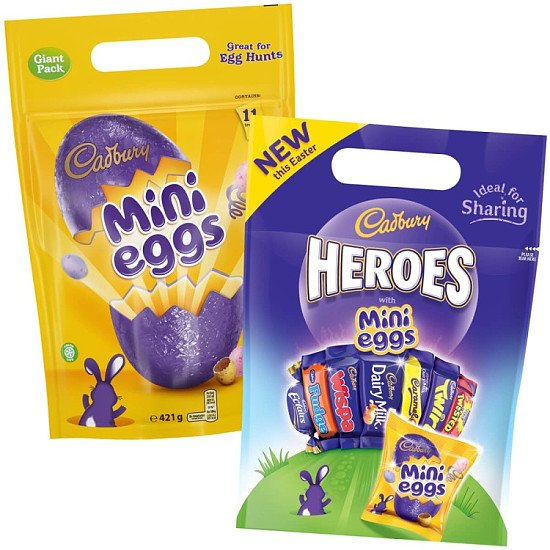 Save- CADBURY EASTER GIFT POUCHES