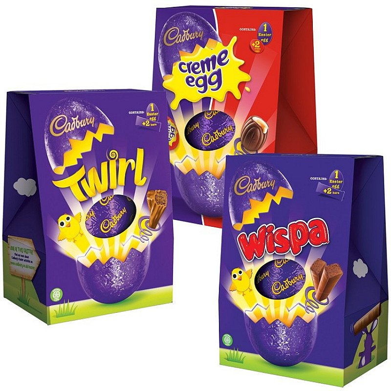 Save- CADBURY LARGE EASTER EGGS