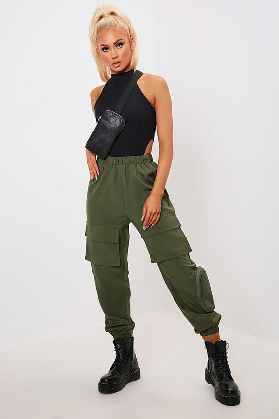 SALE - Khaki Combat Cargo Trousers