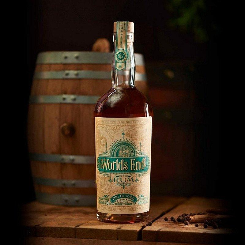 SALE - World's End, Tiki Spiced Rum!
