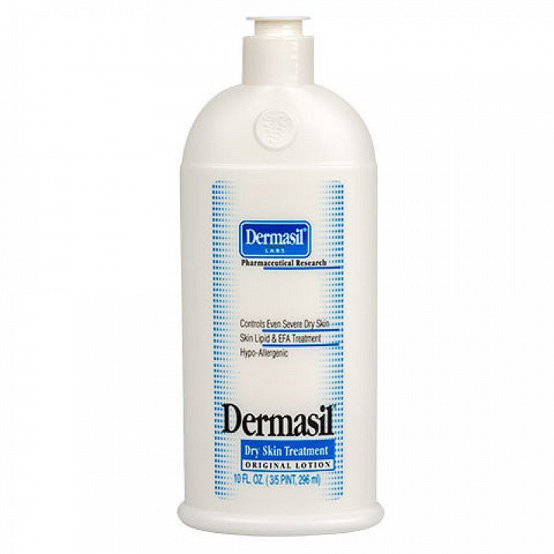 50% OFF JUMBO SIZE BOTTLE DERMASIL LABS HYPO ALLERGENIC BODY LOTION CONTROLS EVEN SEVERE DRY SKIN
