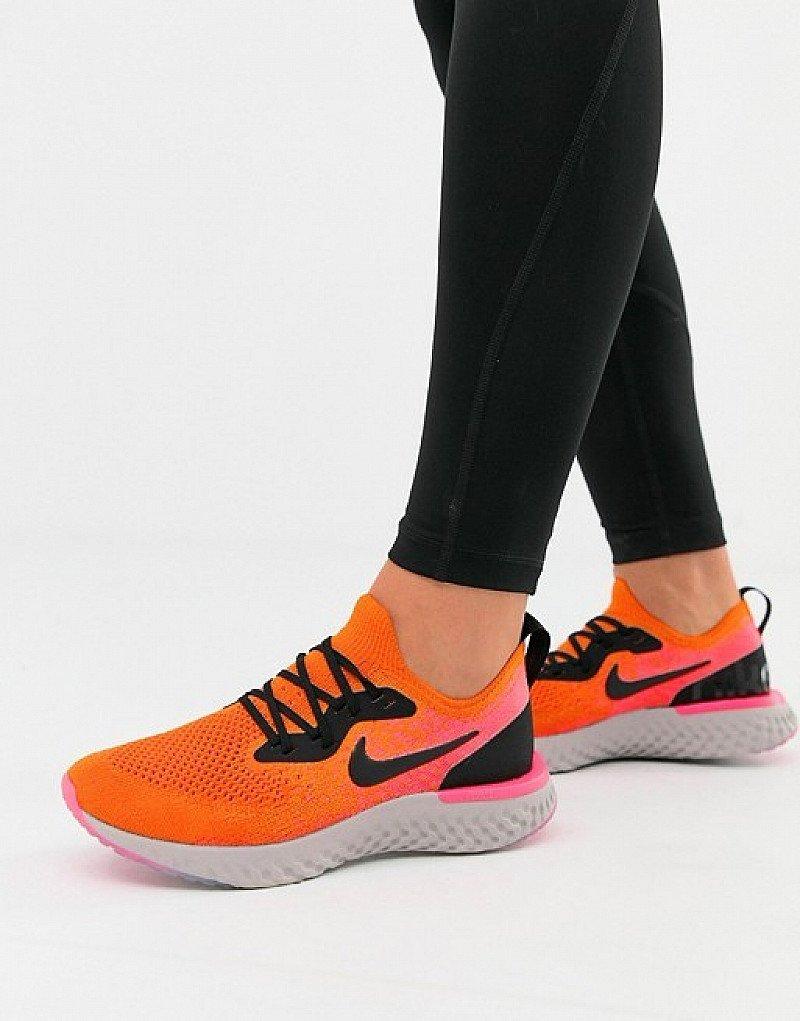 SAL ON ACTIVEWEAR - Nike Running Epic React In Orange