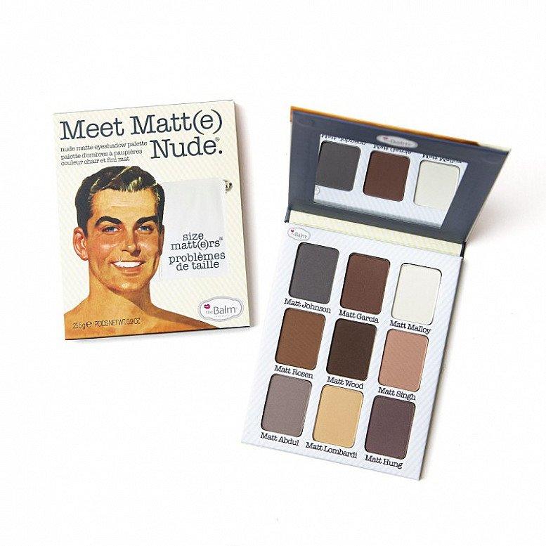 SALE - Palettes Meet Matt(e) Nude Matte Eyeshadow Palette