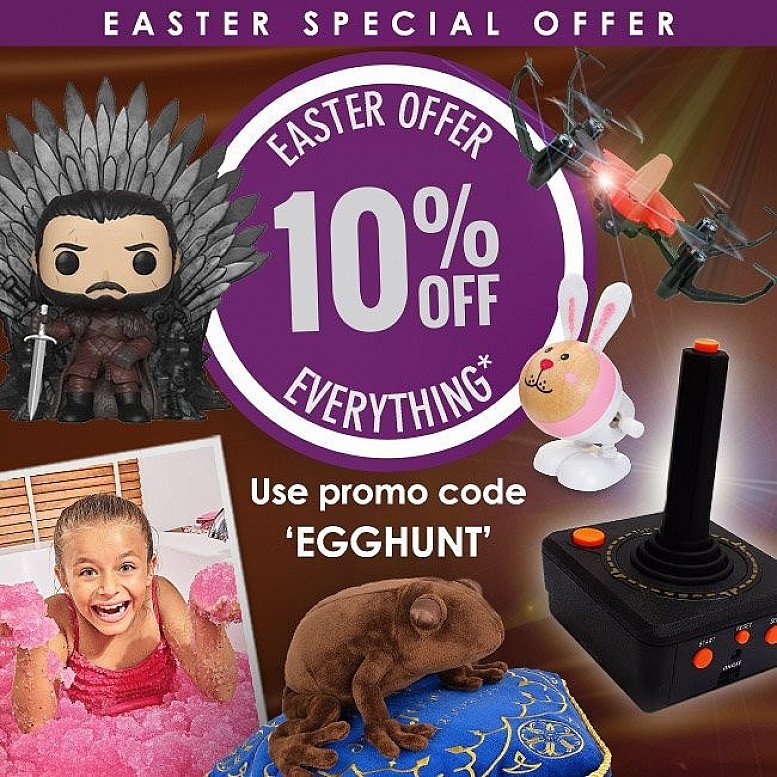 Easter Offer - 10% off Everything!