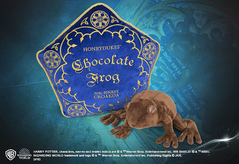 Easter Offer, 10% off Everything - Inc. HARRY POTTER CHOCOLATE FROG PLUSH AND CUSHION