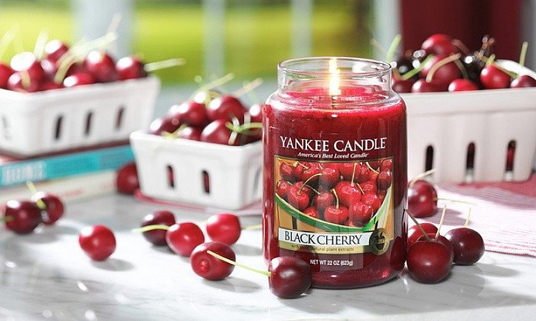 10% Or more off Yankee Candles - Yankee Candle Black Cherry Large Jar