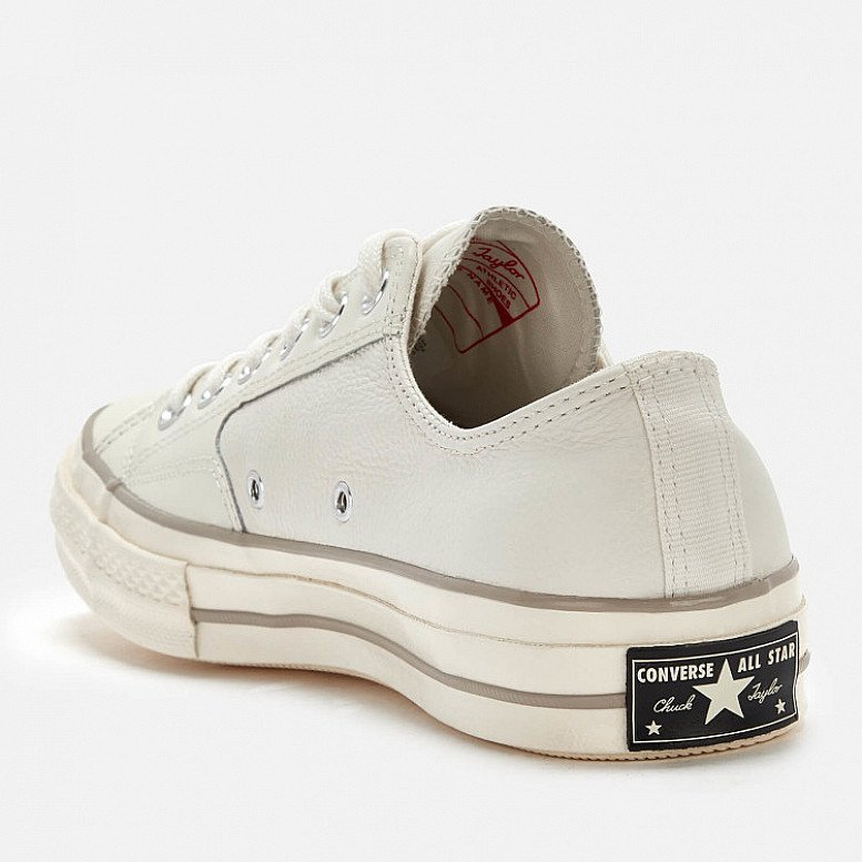 10% off for new customers - Converse Men's Chuck Taylor All Star 70 Ox Trainers - Egret/Papyrus
