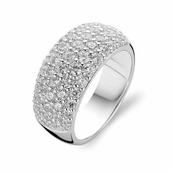 10% off Ti Sento Jewellery - Ti Sento Sterling Silver Cubic Zirconia Ring