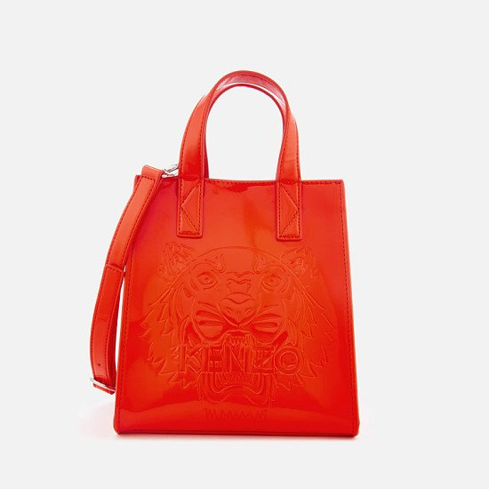 Extra 15% of Selected Outlet - Including KENZO Women's Icon Mini Tote Bag - Medium Red