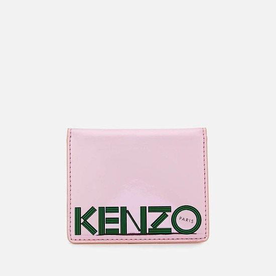 Extra 15% of Selected Outlet - KENZO Women's Logo Card Holder - Faded Pink