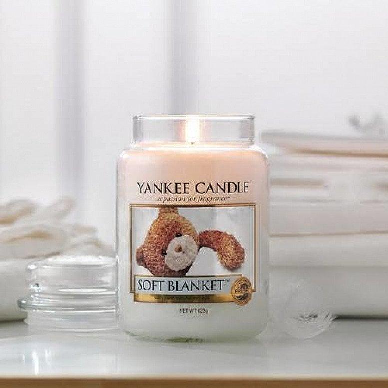 10% off Yankee Candles - Yankee Candle Soft Blanket Large Jar