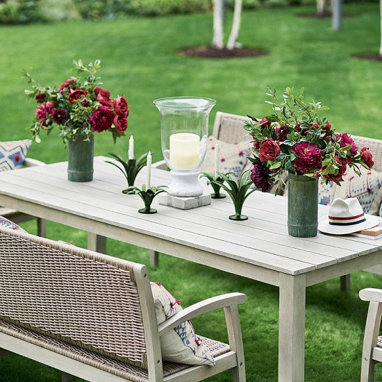 FREE DELIVERY & 10% OFF WITH CODE SET10  -  Sandsend Outdoor Dining Set, Small
