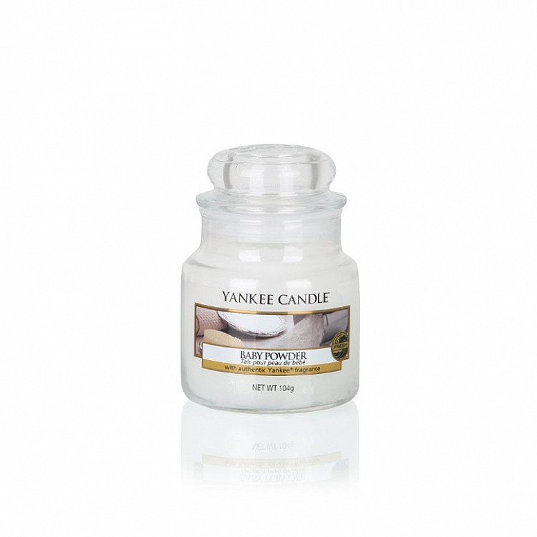SALE - Yankee Candle Baby Powder Small Jar