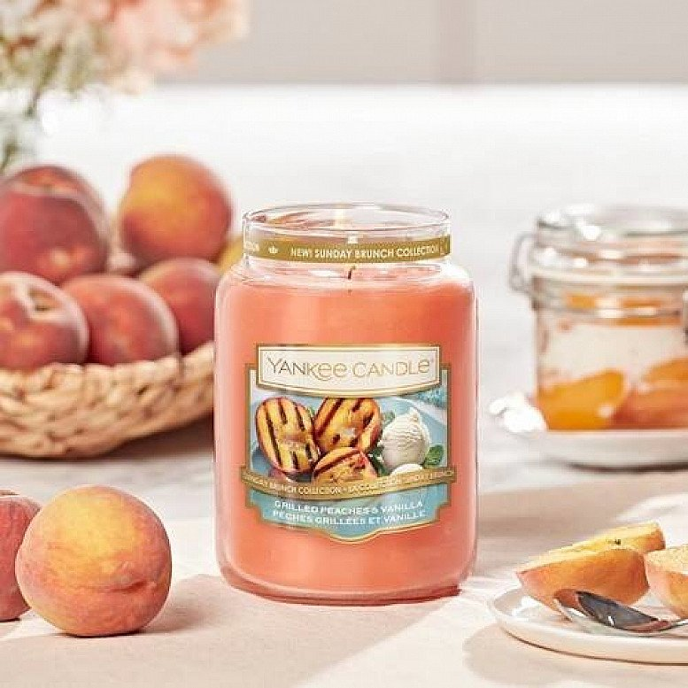 15% off Yankee Candle - Yankee Candle Grilled Peaches and Vanilla Large Jar