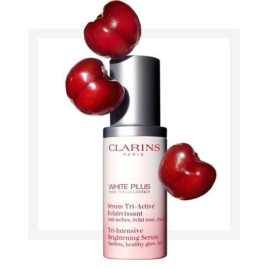 Clarins White Plus Tri-intensive Brightening Serum with special 22% OFF discount!