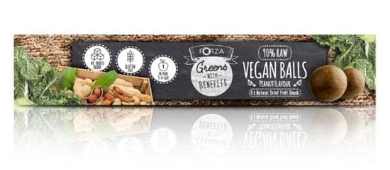Healthy snacks full of delicious flavour! Vegan Balls from FORZA! 6 x 40g Peanut Flavour. SAVE 33%