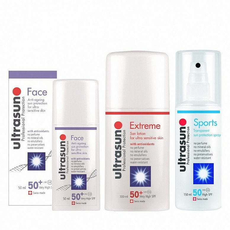 Free Aftersun Cooling & Moisturising Gel 100ml when you spend £40 or more on Ultrasun!