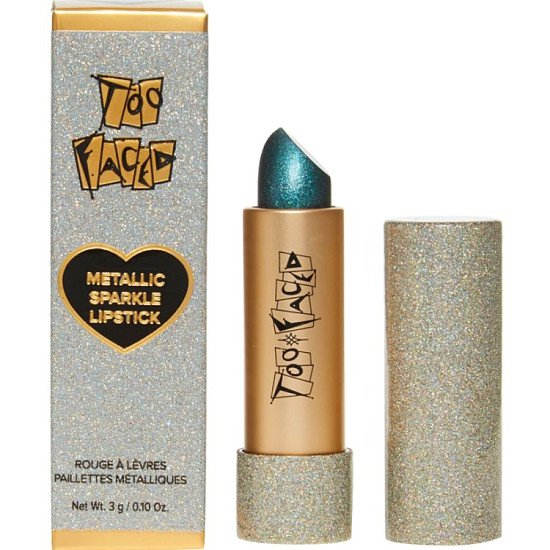 Show off your style with sparkly throwback metallic lipstick from Too Faced Cosmetics!