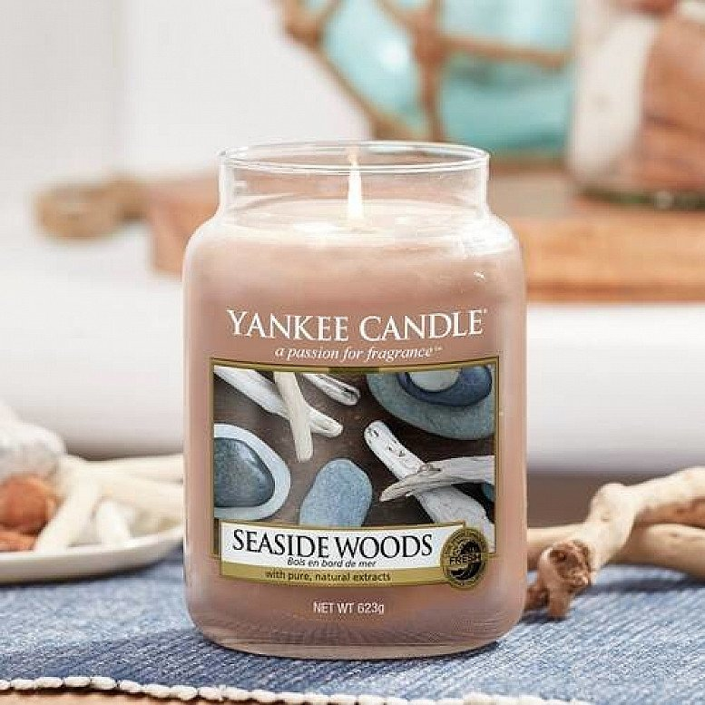 Up to 30% off Yankee Candles - YANKEE CANDLE SEASIDE WOODS LARGE JAR