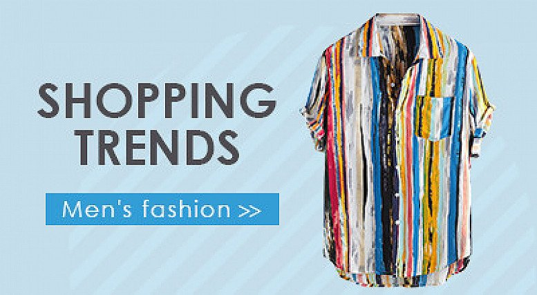 Men's Fashion Items Up to 25% off!