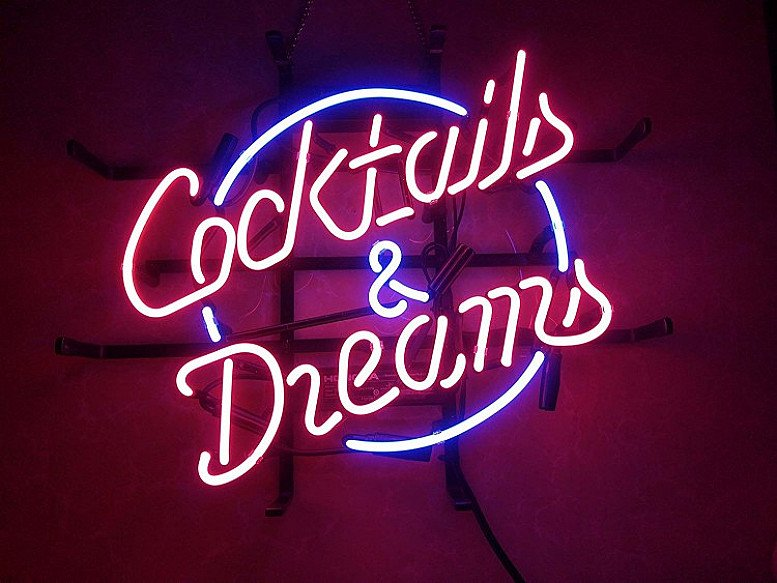 £10 off Cocktails Neon Light!