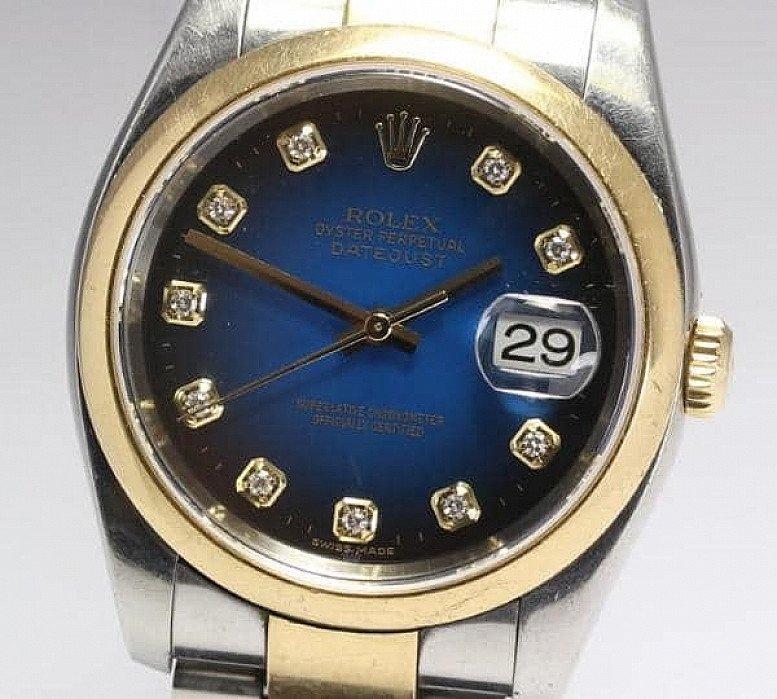 Rolex Datejust cal:3135 - Factory Diamond Dial
