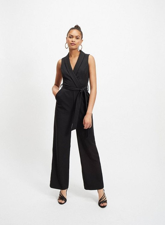 Up to 60% off sale - Black Tuxedo Jumpsuit!
