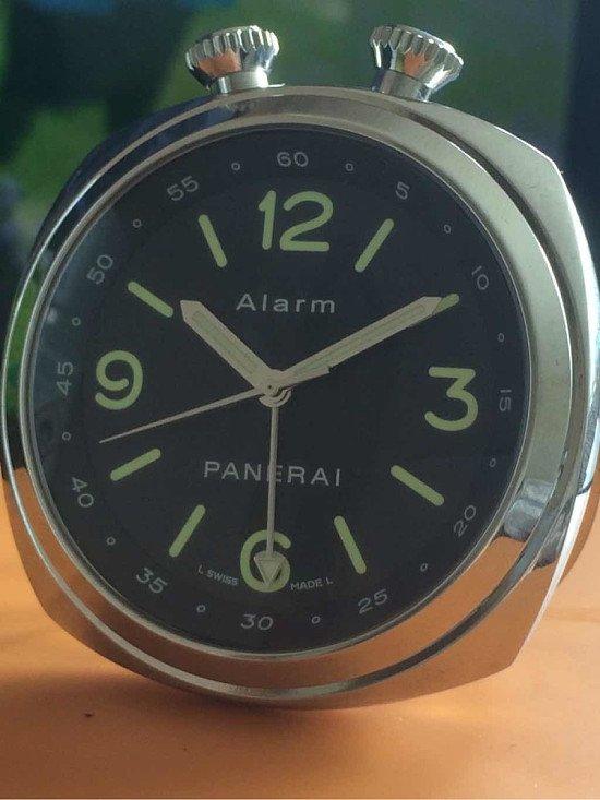 Panerai Travel Alarm Clock - PAM00173 - RRP £3690