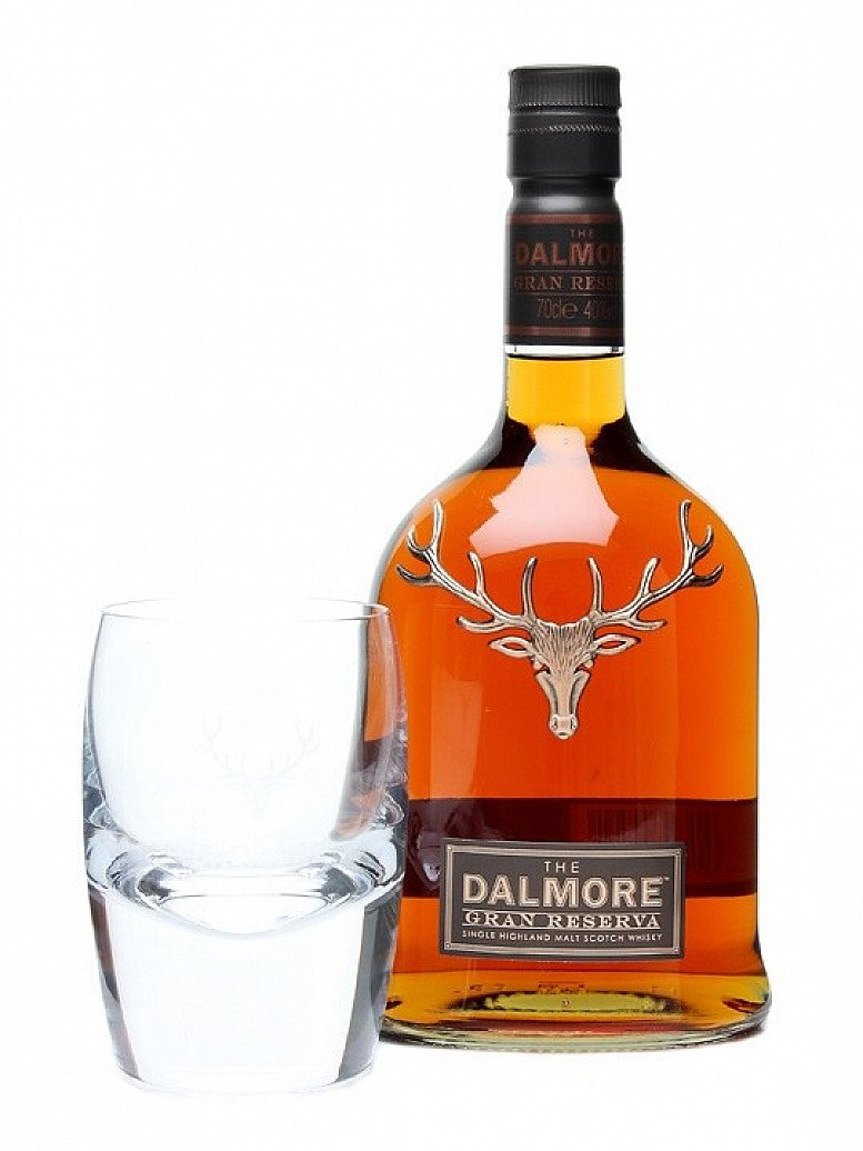 Free Dalmore glass with every bottle!