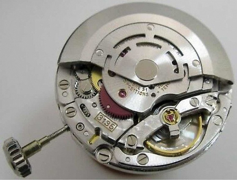 Rolex 3135 Calibre Automatic Movement With Crown - Just Serviced