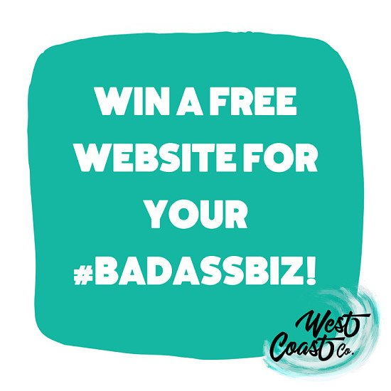 Win a FREE bespoke website for your business!