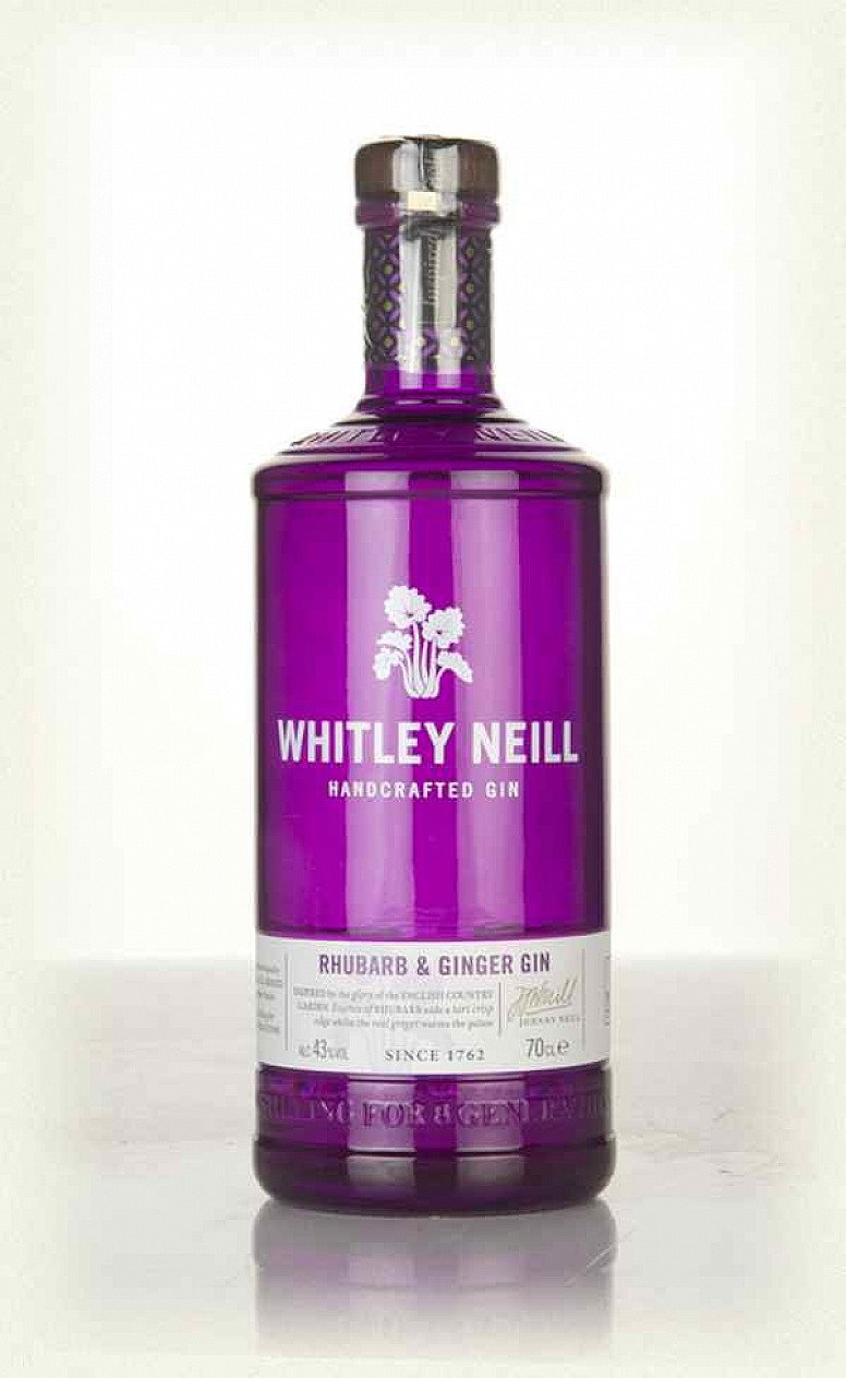 Whitley Neill Rhubarb and Ginger Gin - NOW Only £24.65