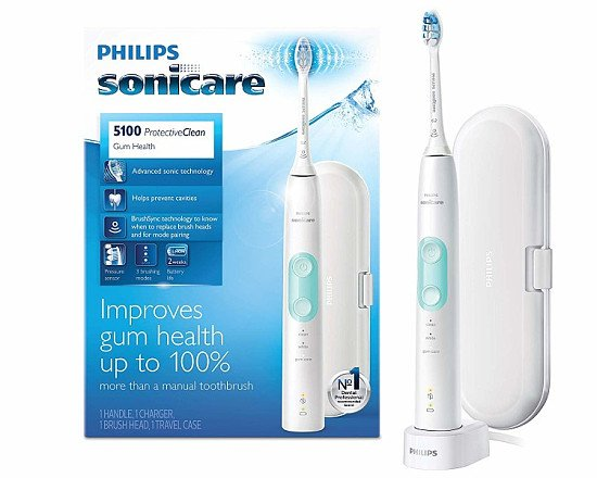GREAT DEAL! Philips Bundle: Philips Sonicare Protective Clean Toothbrush + Gift!