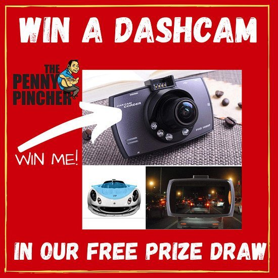 Win A Dashcam With The Penny Pincher