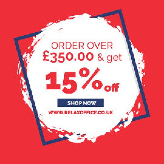 15% off orders over £350