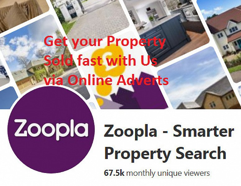 Sell your Property for just £120 via our Online Estate Agent