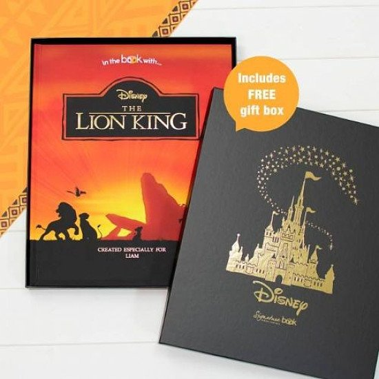 Free Disney Gift Box with Personalised Lion King Story Book!