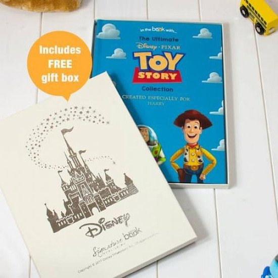 Free Disney Gift Box with Personalised Toy Story Story Book