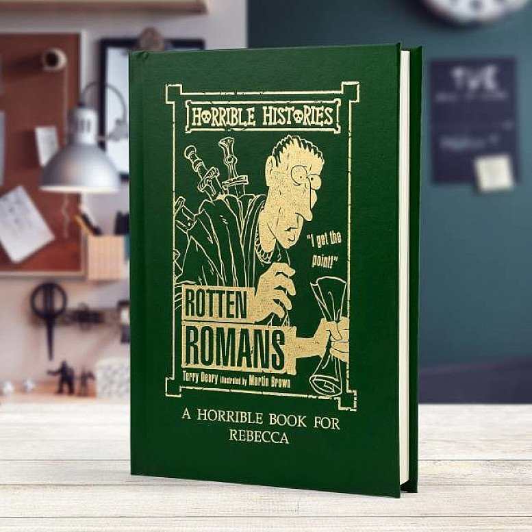 Save 10% on Personalised Horrible Histories Books
