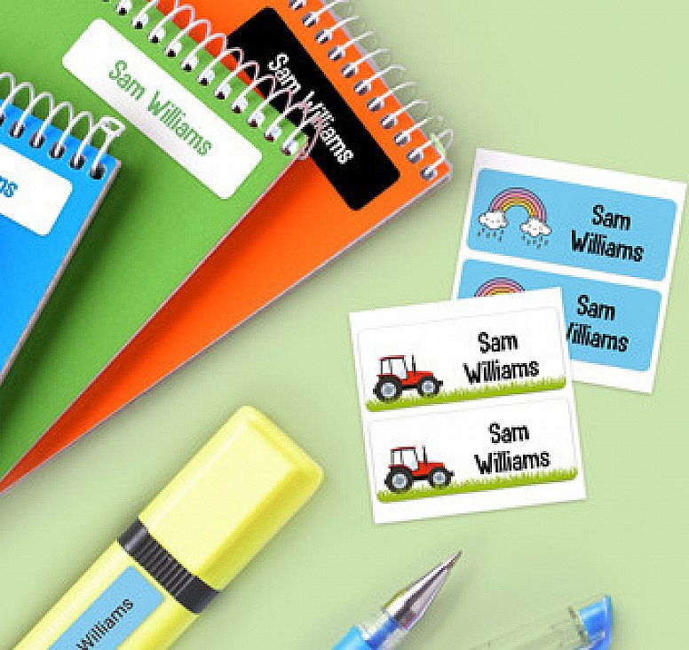 20% Off WHSmith Personalised School Name Labels