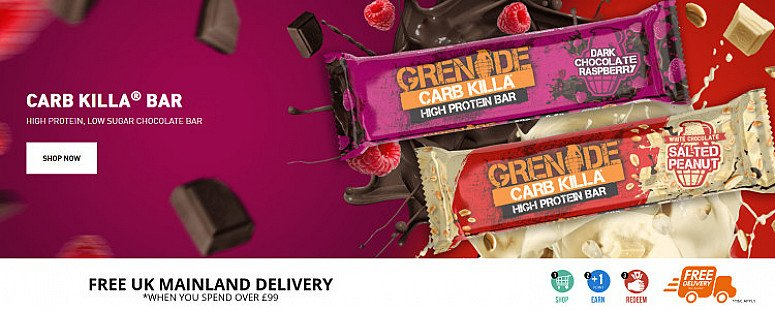 Save up to 40% on Protein Bars