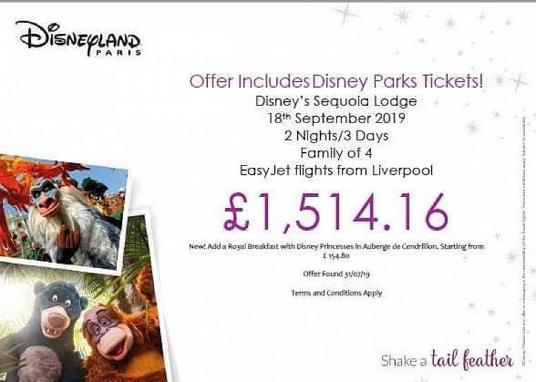 Disneyland Paris Offer
