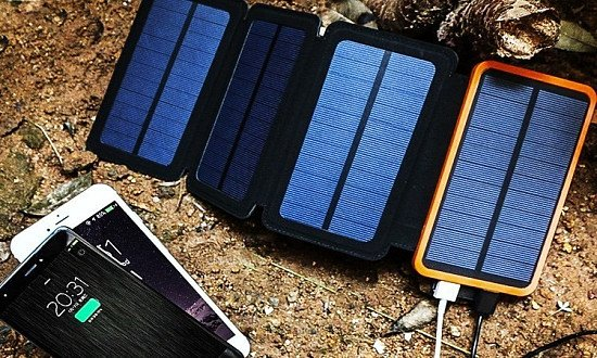 Solar-Powered Power Bank - £30!